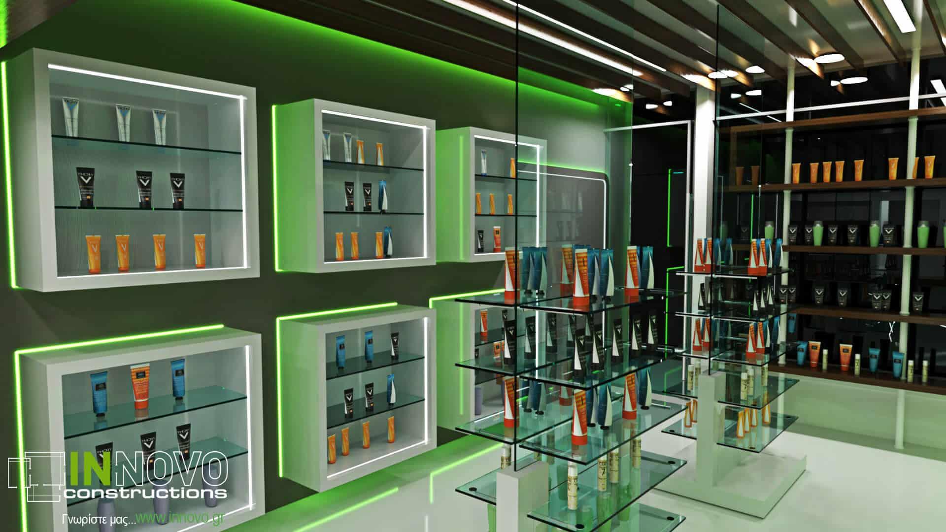 Μελέτη σχεδιασμού φαρμακείου στο Άμστερνταμ