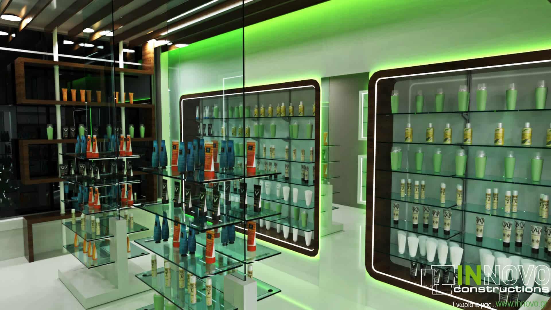 Μελέτη ανακαίνισης φαρμακείου στο Άμστερνταμ