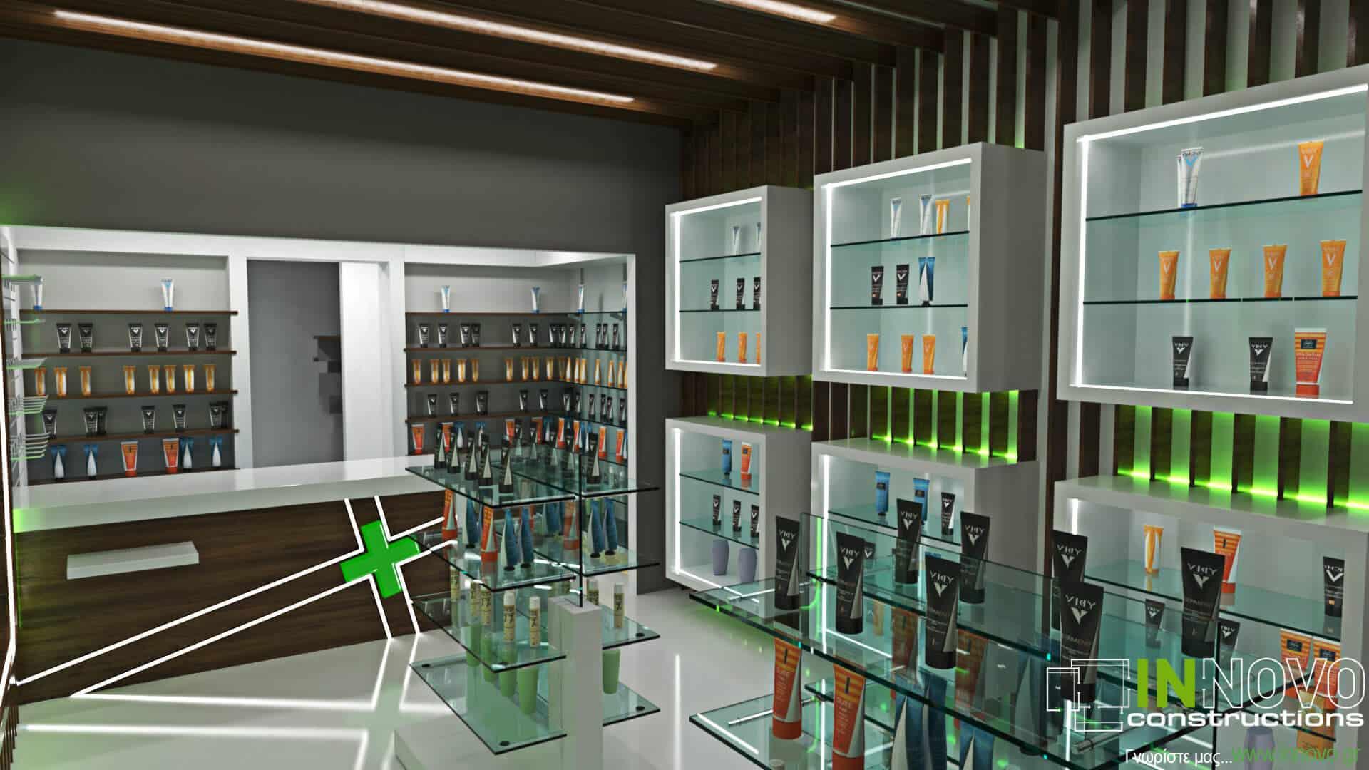 Σχεδιασμός εξοπλισμού φαρμακείου στο Άμστερνταμ