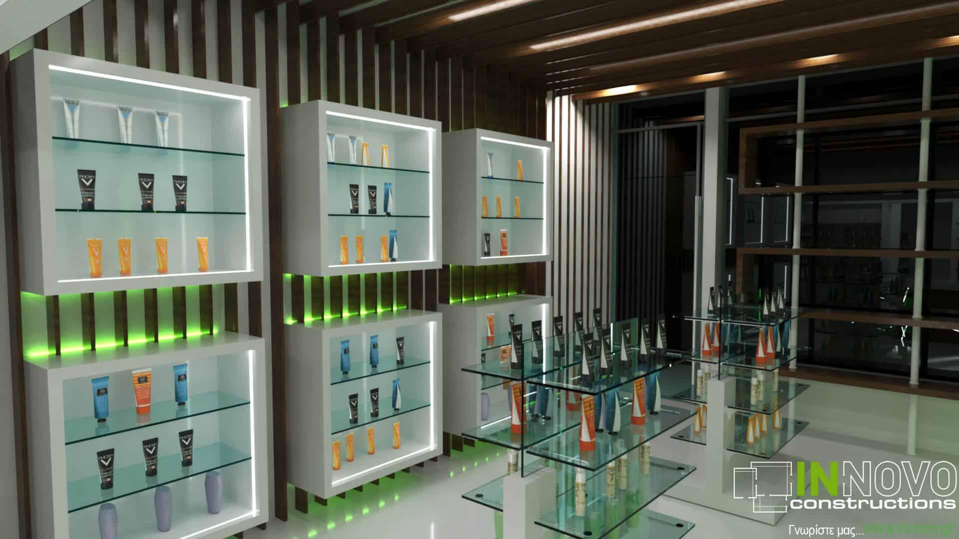 Σχεδιασμός κατασκευής φαρμακείου στο Άμστερνταμ