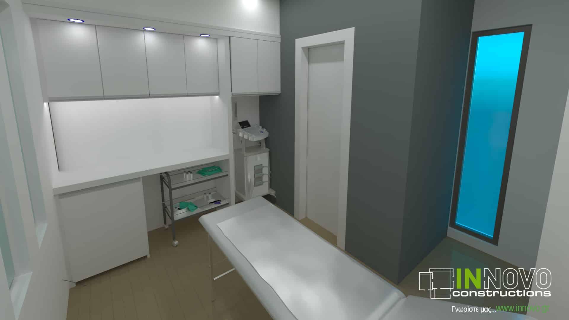 Μελέτη παθολογικού ιατρείου στο Πόρτο Ράφτη