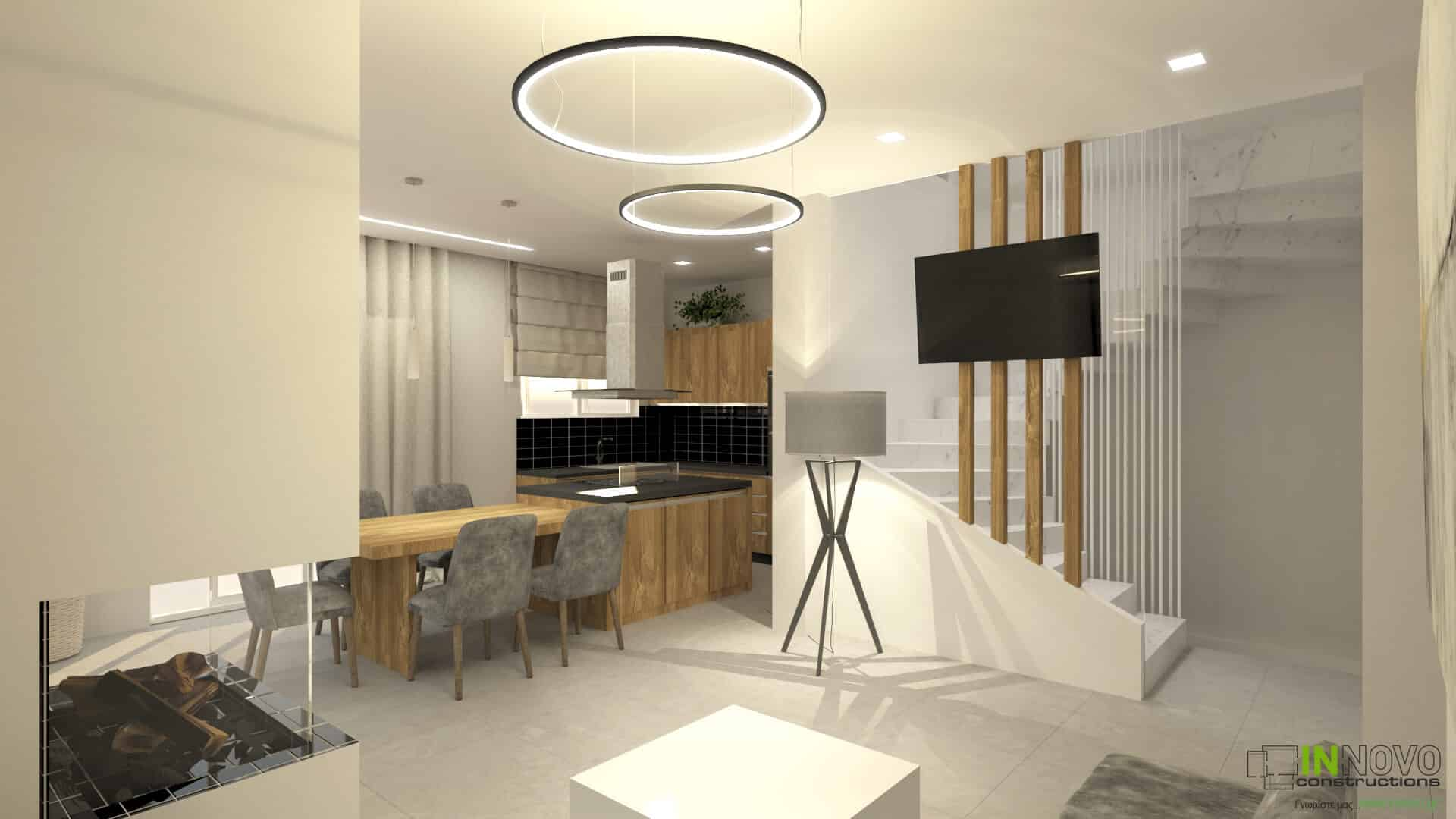 Σχεδιασμός κατασκευής κατοικίας στον Υμηττό