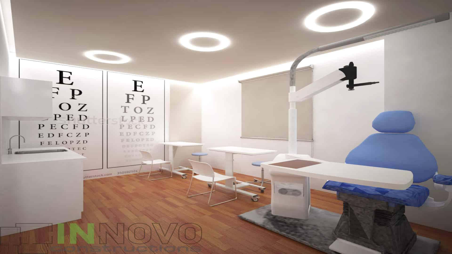 Μελέτη διακόσμησης οφθαλμιατρείου στην Αργυρούπολη