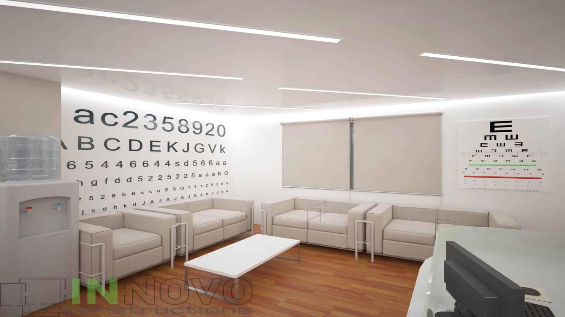 Μελέτη σχεδιασμού οφθαλμιατρείου στην Αργυρούπολη