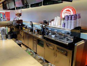 Καφέ, επαγγελματικός εξοπλισμός