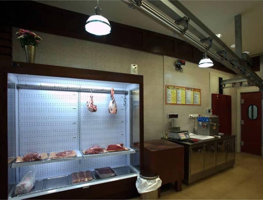Εξοπλισμός ψυγεία κρεοπωλείου