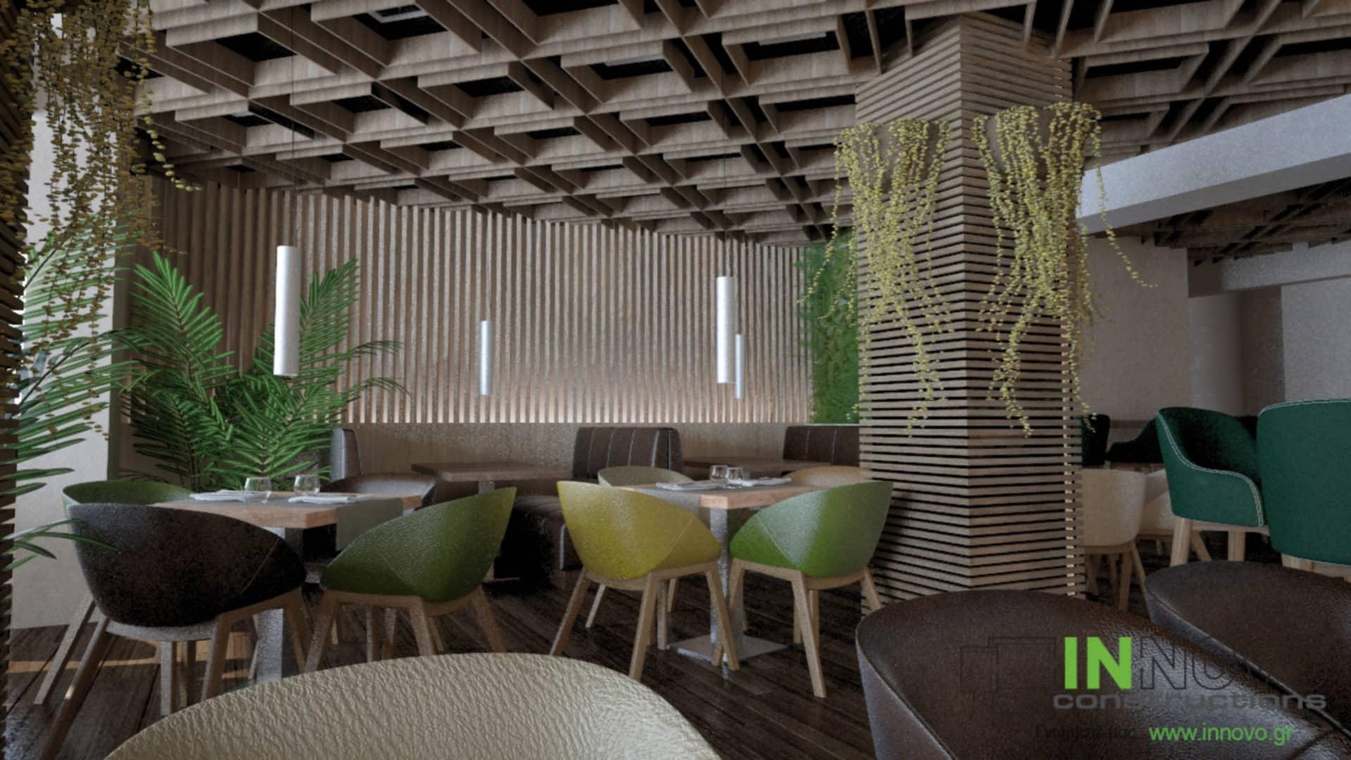 Μελέτη κατασκευής εστιατορίου στον Κορυδαλλό