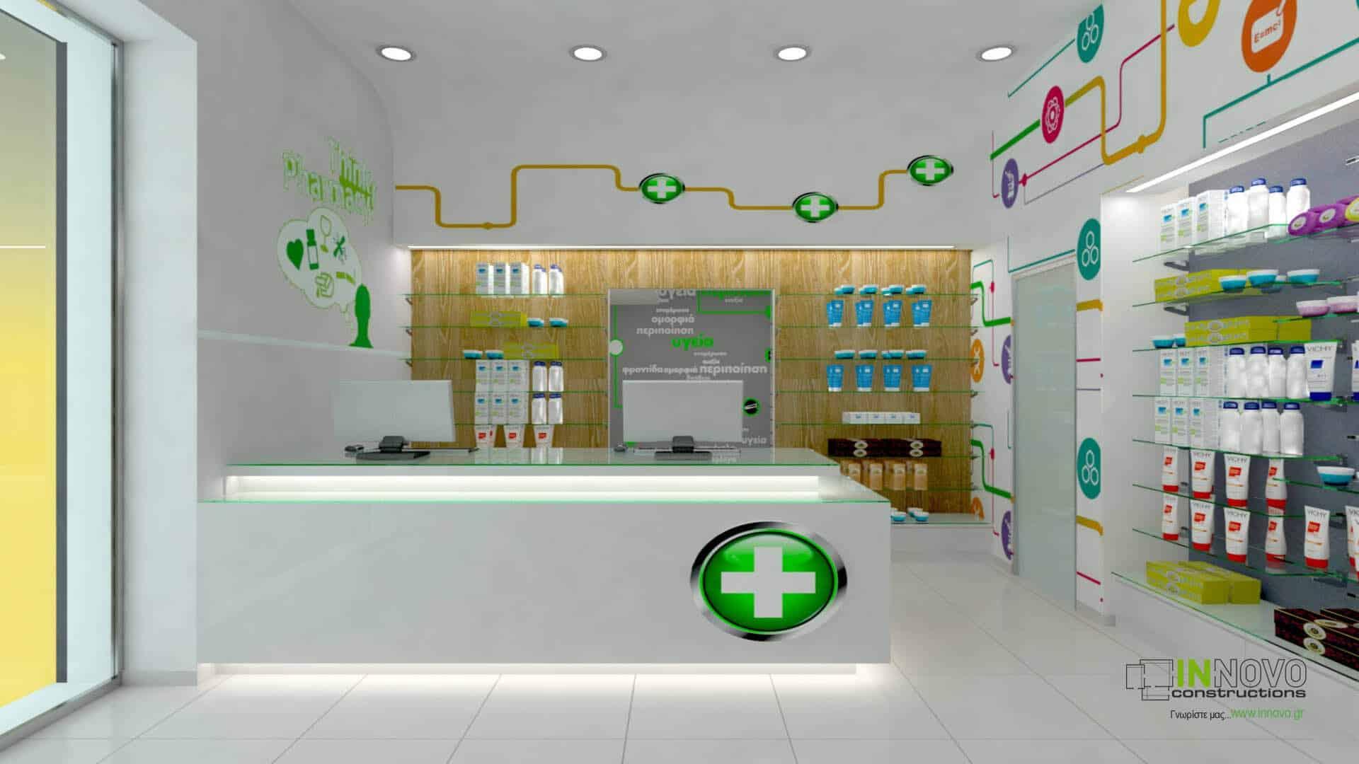 Σχεδιασμός κατασκευής φαρμακείου στην Αθήνα