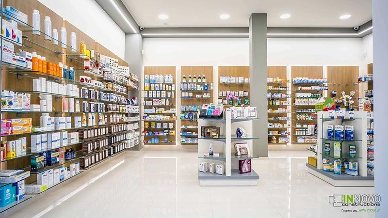 Σχεδιασμός μελέτης Φαρμακείου στην Ηλιούπολη από την Innovo