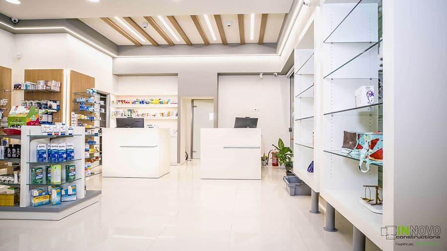 Σχεδιασμός Φαρμακείου στην Ηλιούπολη