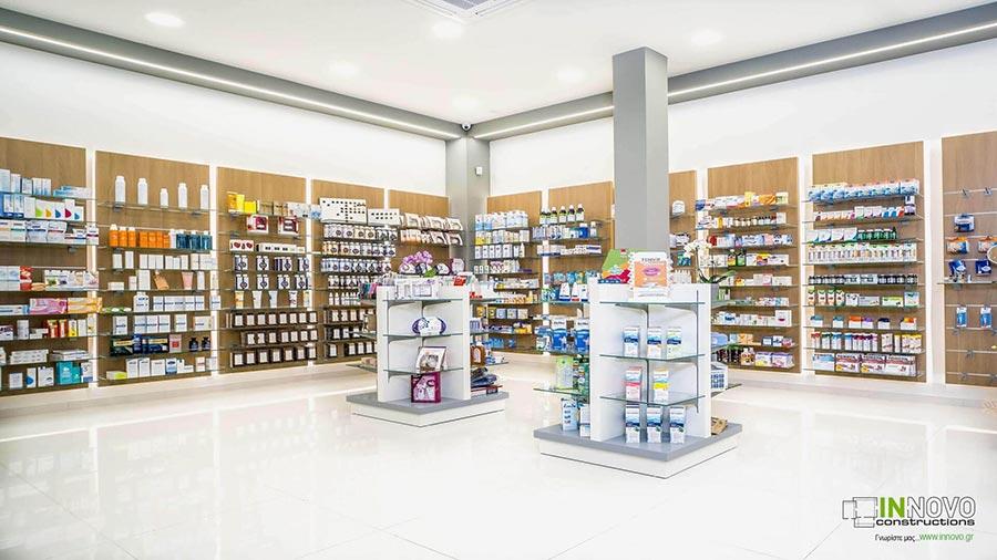 Σχεδιασμός εξοπλισμού Φαρμακείου στην Ηλιούπολη