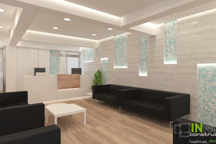 Kατασκευη αγγειοχειρουργικου ιατρειου στη Κηφισια απο την Innovo
